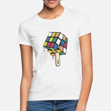 Rubik's Cube Ice Lolly - Vrouwen T-shirt