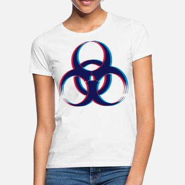 3d Biohazard 3D - Women's T-Shirt