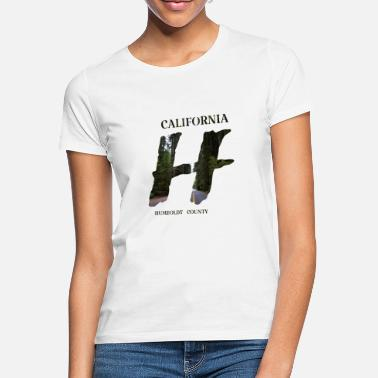 County California Humboldt County - Frauen T-Shirt