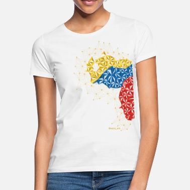 e1793293e Venezuela Venezuela en el Pecho - Camiseta mujer