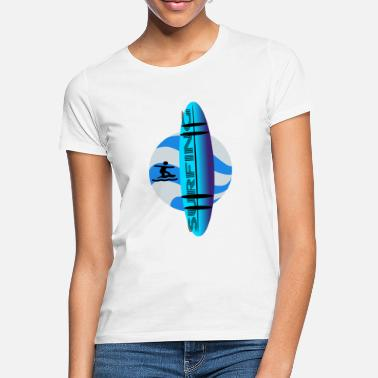 Surfing - T-shirt dame