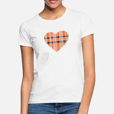 Cuore barcode love 2c - Women's T-Shirt