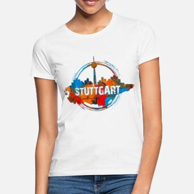 Color Stuttgart Color - Frauen T-Shirt