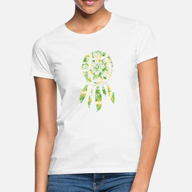 Flower Power Fred Dreamcatcher Flower Power Gift Kærlighedsidee - T-shirt dame