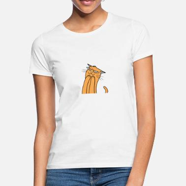 Funny Funny cat - Women's T-Shirt