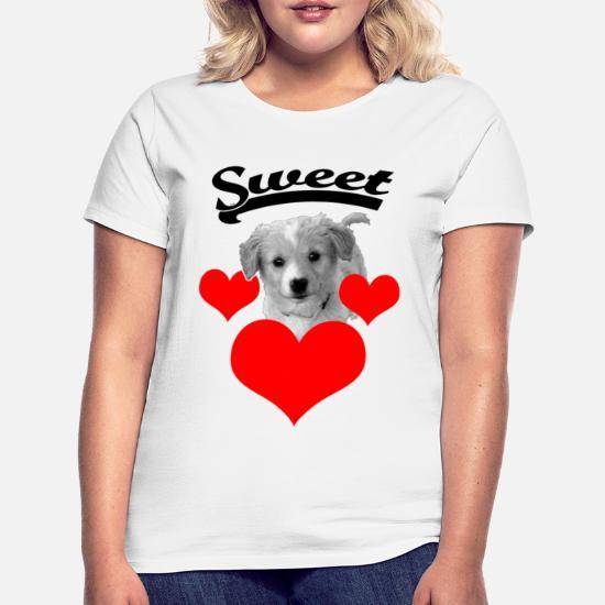 Søt hundet skjorte Musematte | Spreadshirt
