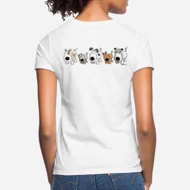 Funny Dog Funny Dogs - Dog - Doggy - Cartoon - Women's T-Shirt