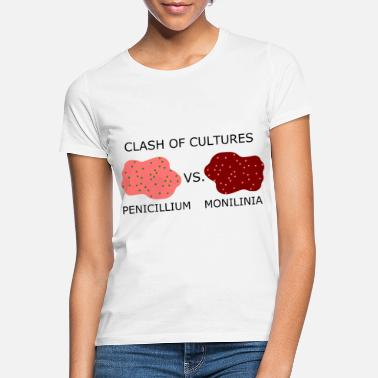 Clash Biologi biolog Rolige ordspiller Clash Of Cultures - T-shirt dame
