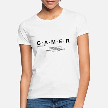 Dictionary Gamer dictionary - Women's T-Shirt
