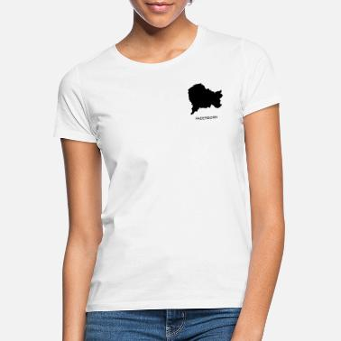 Outline Graphics Paderborn - Women's T-Shirt