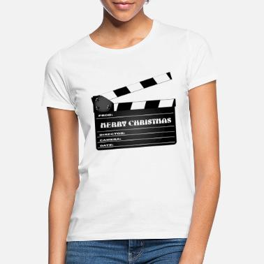 Clapper Bestirelse Christmas Clapper Board - T-shirt dame