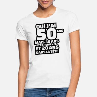 50 ans T-shirt pour 50e anniversaire Cadeau 50e anniversaire Leiberl