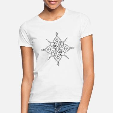Reiki Mandala-Design No. 2 - black - Frauen T-Shirt