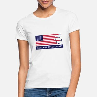 Nationale Spiele National Aviation day - Frauen T-Shirt
