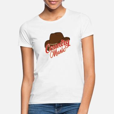 Country Country music - Frauen T-Shirt