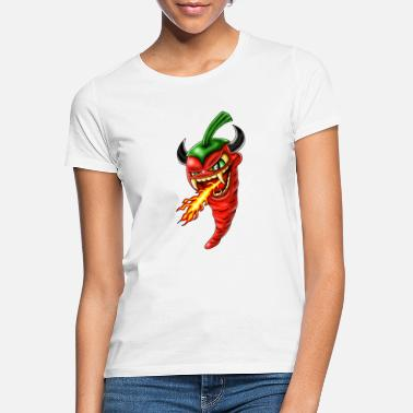 Chilli devil - Frauen T-Shirt
