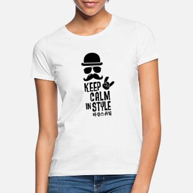 Like A Boss Like a keep calm in style moustache boss - Vrouwen T-shirt