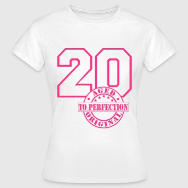 20 Aged to Perfection - Frauen T-Shirt