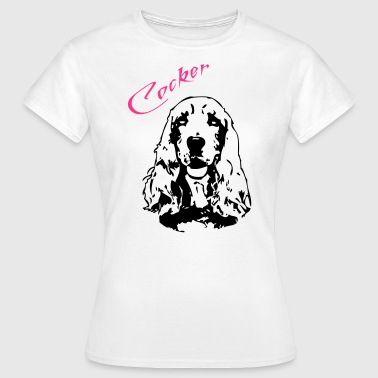 Cocker - Frauen T-Shirt