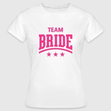 Team Bride (Stars) - Women's T-Shirt