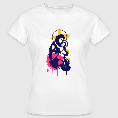 Virgin Mary with Child - Women's T-Shirt