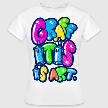 graffitis art multicolors - Women's T-Shirt