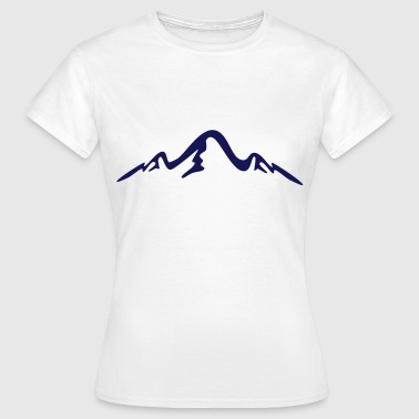 mountains, alps - Women's T-Shirt