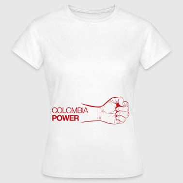 Colombia Power - Camiseta mujer