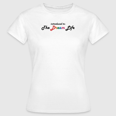 'Retro Dream Life' Baseball Cap - Women's T-Shirt
