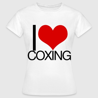 I Love Coxing - Women's T-Shirt