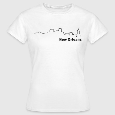 New Orleans - Dame-T-shirt