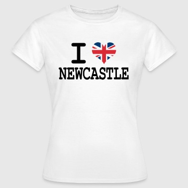 i love Newcastle - Women's T-Shirt