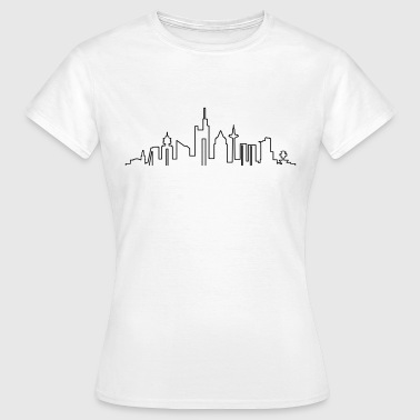 Skyline - Frankfurt am Main - Frauen T-Shirt