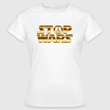 STOP THE WAR COLLECTION - Dame-T-shirt