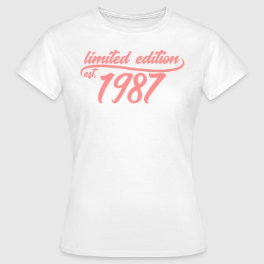 Limited Edition est 1987 - Women's T-Shirt