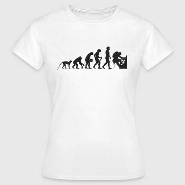 Evolution Bergsteiger - Frauen T-Shirt