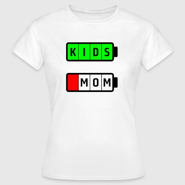 mom kids - Frauen T-Shirt