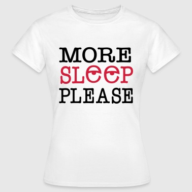 2541614 120135498 sleep - Women's T-Shirt