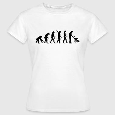 Evolution Grillen - Frauen T-Shirt
