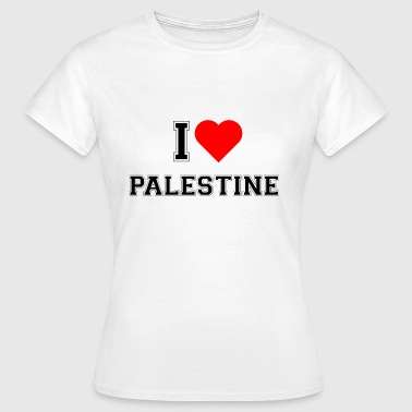 I love Palestine - Women's T-Shirt