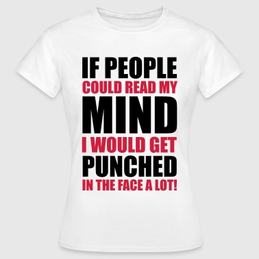 Punched In The Face - Women's T-Shirt