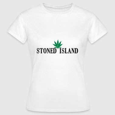 STONED IJSLAND WEED SHIRT - Vrouwen T-shirt