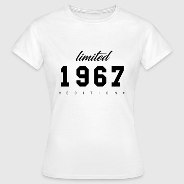 Limited Edition - 1967 (cadeau) - Vrouwen T-shirt