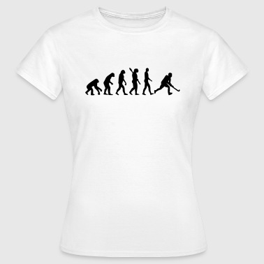 HOCKEY EVOLUTION! - Frauen T-Shirt