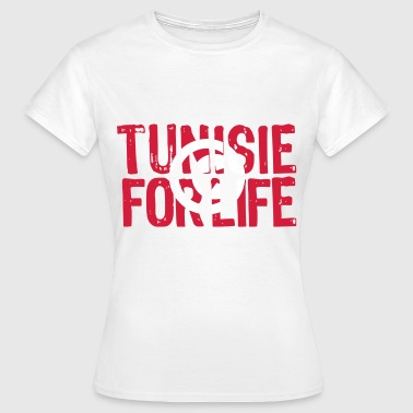 Tunisie for life grunge vect - T-shirt Femme