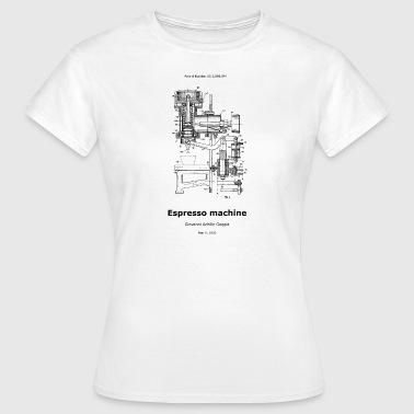 Espresso machine - Frauen T-Shirt
