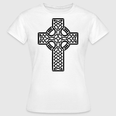 JEZUS CHRISTUS. CROSS god godsdienst Bible Church - Vrouwen T-shirt