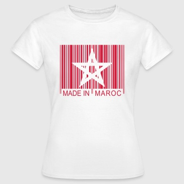 Code barre Made in MAROC 1c - Women's T-Shirt