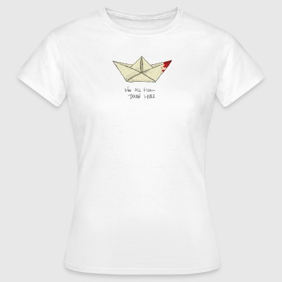 IT boat stephen king - Women's T-Shirt