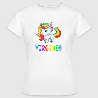 Virginia Einhorn - Vrouwen T-shirt